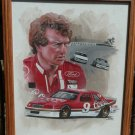 Bill Elliott NASCAR Winston Cup Original Oil Painting