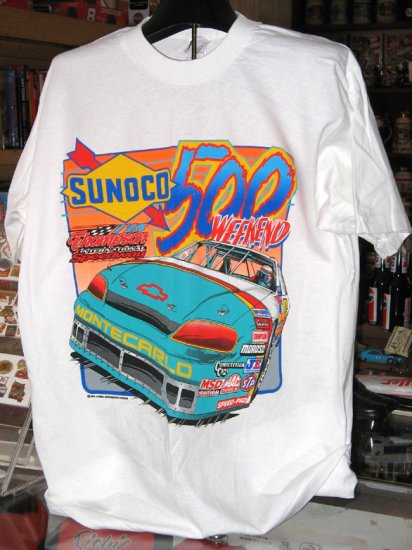 Thompson International Speedway Sunoco 500 Weekend Large Tshirt