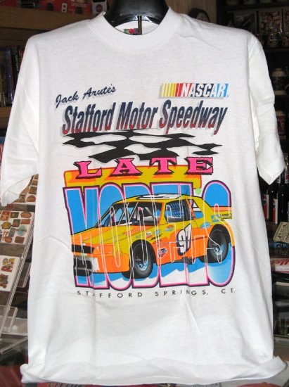 Stafford Motor Speedway NASCAR Late Models Large Tshirt