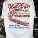 Motor Head Parts Dept.: Headers XLarge T-Shirt