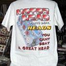 Motor Head Parts Dept. - Heads Large T-Shirt
