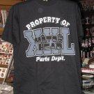 Property of Motor Head Parts Department Black Tshirt Large
