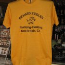 Richard Ziegler Plumbing Heating New Britain Ct XL Tshirt SH1541