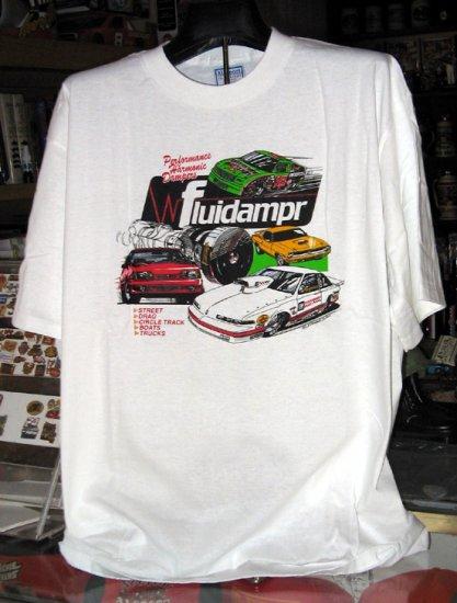 Fluidampr 1993 Best Engineered Street Car XXL Tshirt Performance Harmonic Dampers