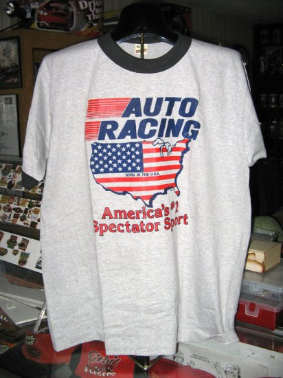 Auto Racing America's Number 1 Sport XL Tshirt SH1521