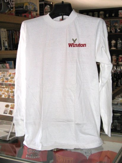 Winston Racing Long Sleeves Medium Tshirt