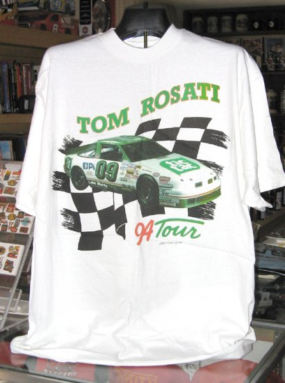 Tom Rosati Tic Tac EJP #09 94 Tour Busch North XL Tshirt SH1417