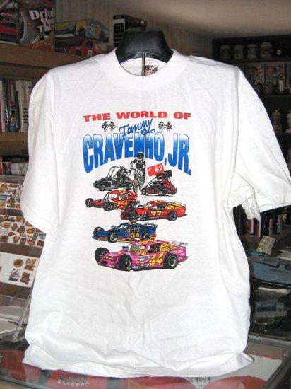Tommy Cravenho Jr #44 NASCAR Modified XL Tshirt