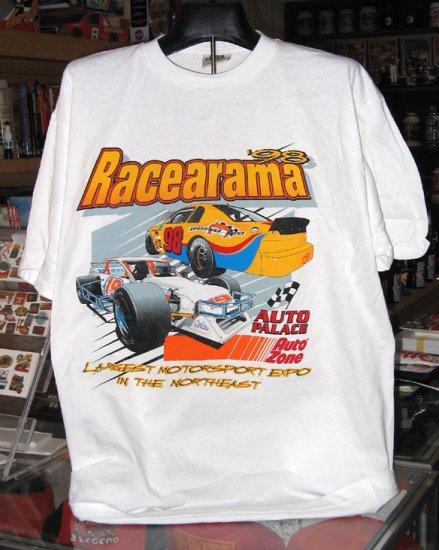 Racearama '98 Speedway Scene Auto Palace  Auto Zone XLarge Tshirt SH6064
