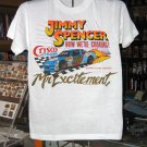 Jimmy Spencer Mr Excitement Crisco Racing SMALL Tshirt NASCAR