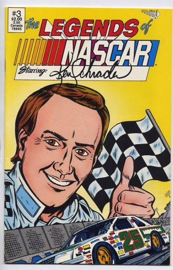 The Legends of NASCAR Starring Ken Schrader #3 Vortex Comix