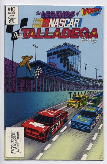 The Legends of NASCAR The Talladega Story #10 Vortex Comix