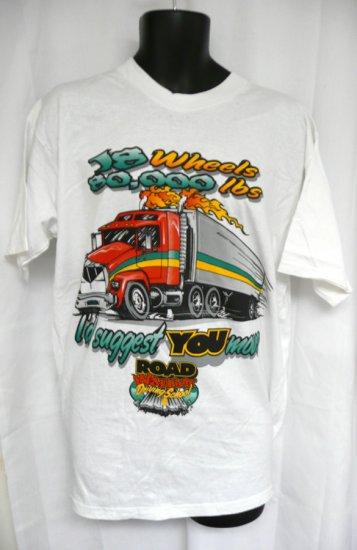 Road Warrior Driving School 18 Wheels XL T-Shirt
