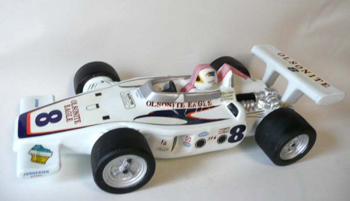 Olsonite Eagle #8 Decanter Dan Gurney Racing Bobby Unser