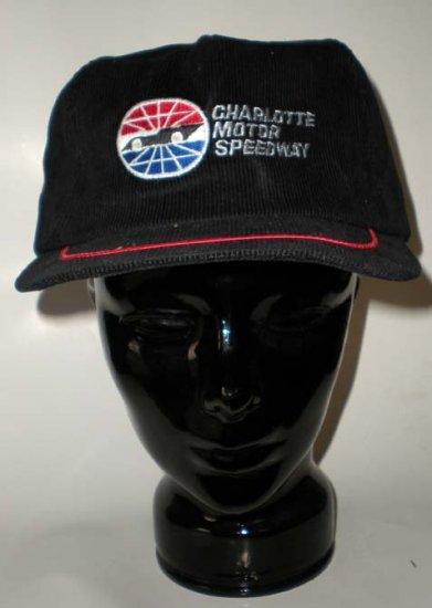 Charlotte Motor Speedway NASCAR Cap Black