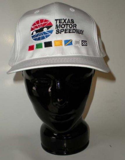 Texas Motor Speedway NASCAR Cap White
