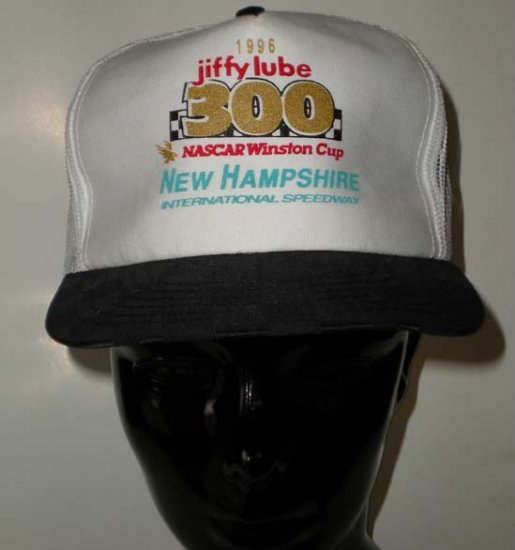 1996 Jiffy Lube 300 New Hampshire Speedway Cap NASCAR NHIS