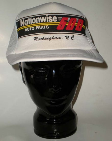 Nationwise Auto Parts 500  Rockingham NC Cap NASCAR