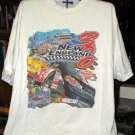 NHIS Magic Mile 2001 New England 300 X- Large Tshirt NASCAR SH6505