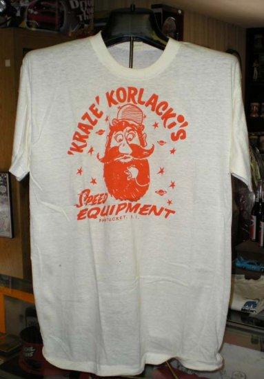 Kraze Korlacki Speed Equipment XL Tshirt  SH6056