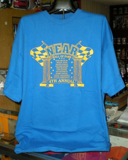 NEAR Hall of Fame 4th Annual  XXL Tshirt  Racing SH6059