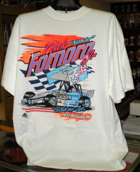 Nick Nokie Fornoro Jr #32 Soule Racing 2X TShirt SH6060