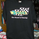 3 Wide Our Brand of Racing  Large Black Tshirt SH6071