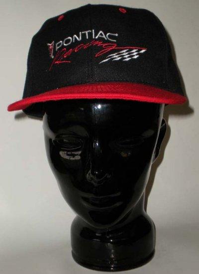 Pontiac Racing  Black Adjustable Cap