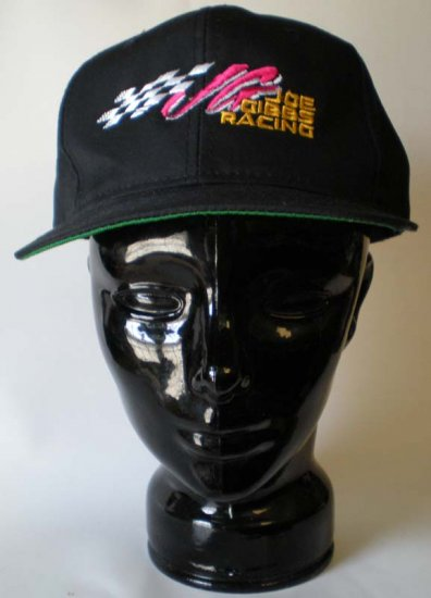 Joe Gibbs Racing Black Adjustable Cap NASCAR