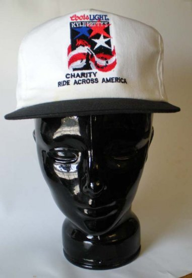 Coors Light Kyle Petty Charity Ride Across America Cap NASCAR