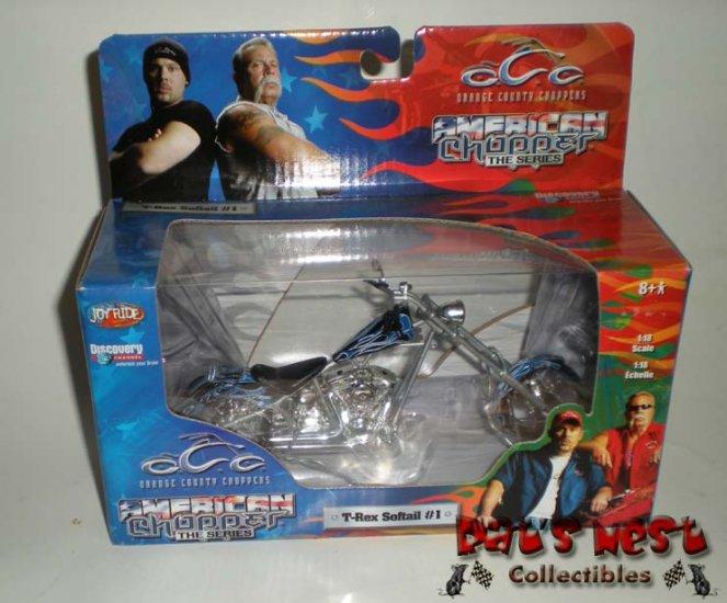 Ertl Orange County Choppers OCC T-Rex Softail #1