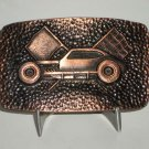 Pinto Race Car Modified Belt Buckle Coppertone