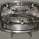 Larry Pearson #21 Chattanooga Chew Busch GN Champ Belt Buckle NASCAR