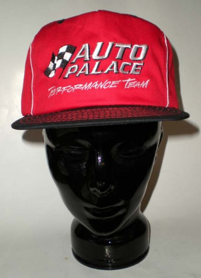 Auto Palace Racing Red Adjustable Cap Hat