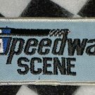 Speedway Scene Blue Version Sew On Patch Motorsports NASCAR