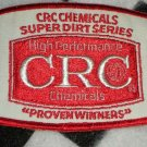 CRC High Performance Chemicals Sew On Patch Motorsports NASCAR