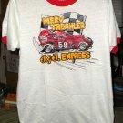 Merv Treichler #58 J & J Express White Large TShirt SH6122