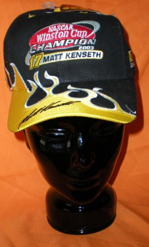 Winston  Auto Racing on Winston Cup 2003 Champion Dewalt Racing Hat Cap Motorsports Racing