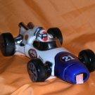 #21 Speedway Racer Ezra Brooks Decanter Bottle