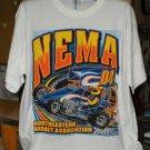 NEMA  04 Northeastern Midget Association L Tshirt  Racing SH6528