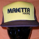 Maietta Racing Adjustable Cap Stock Car Racing Motorsports NASCAR