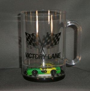 Cole Trickle #46 City Chevy Victory Lane Acrylic Mug Diecast NASCAR Auto Racing