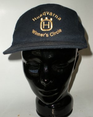 Auto Racing Death on Husqvarna Winners Circle Cap Hat Motorsports Auto Racing