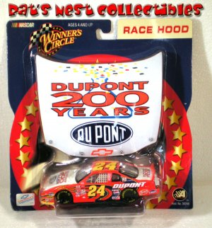 Jeff Gordon #24 Dupont 200 Years Winners Circle Race Hood Series NASCAR