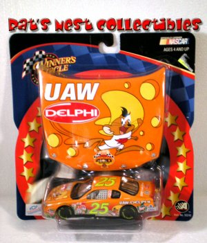 Joe Nemechek #25 UAW Delphi Winners Circle 1:43 Diecast Race Hood Series NASCAR