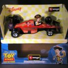 Bburago Disney Pixar Woody Toy Story 1:24 Diecast F1 Race Car