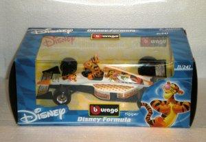 Bburago Disney Formula Tigger 1:24 Diecast F1 Race Car
