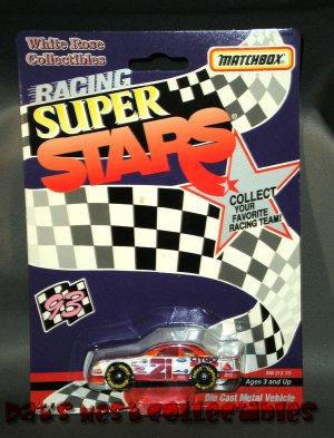 Morgan Shepherd #21 Citgo 1:64 Diecast White Rose Collectibles Matchbox Racing Super Stars NASCAR