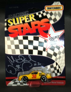 Michael Waltrip #30 Pennzoil 1:64 Diecast White Rose Collectibles Matchbox Racing Super Stars NASCAR