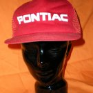 Pontiac Red Adjustable Hat Cap NASCAR Motorsports